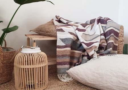Striped Maya Blanket